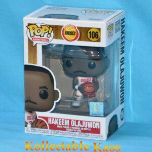 NBA Basketball - Hakeem Olajuwon Houston Rockets Pop! Vinyl Figure