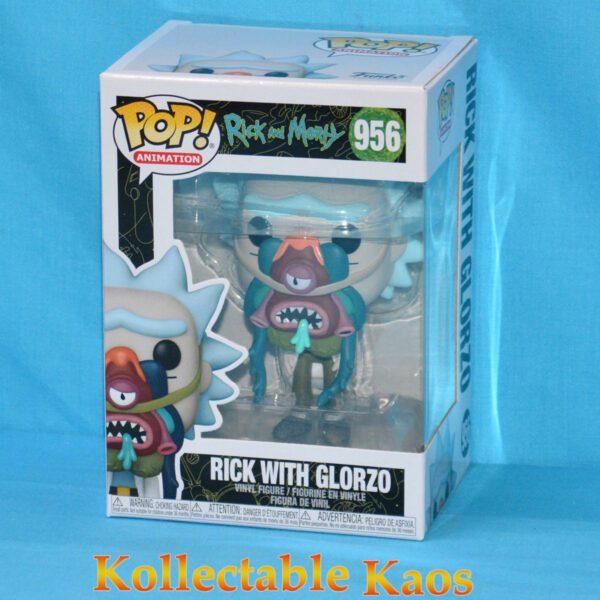 Rick and Morty - Rick with Glorzo Pop! Vinyl Figure