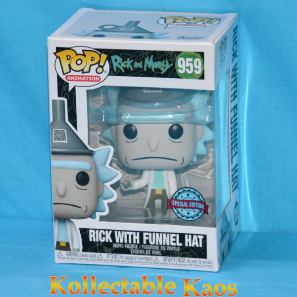Rick and Morty - Rick with Funnel Hat Pop! Vinyl Figure