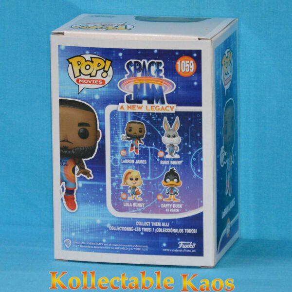 Space Jam 2: A New Legacy - LeBron James Jumping Pop! Vinyl Figure