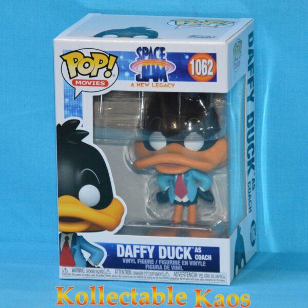 Space Jam 2: A New Legacy - Daffy Duck as Coach Pop! Vinyl Figure
