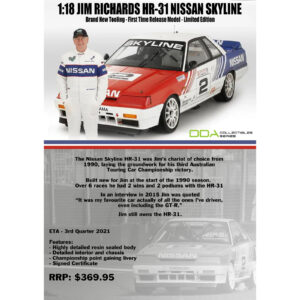 1:18 DDA - Nissan Skyline HR-31 - Jim Richards