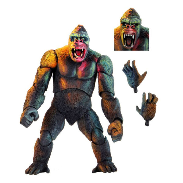 "King Kong - King Kong Illustrated Variant 8"" Action Figure"