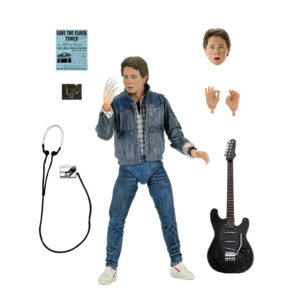 """Back to the Future - Marty McFly Audition Version Ultimate 7"""" Scale Action Figure"""
