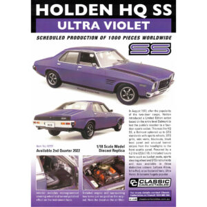 CC 18757 Holden HQ SS Ultra Violet 300x300 - South Australia's Largest Collectable Store