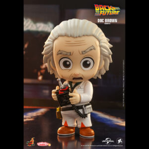 Back to the Future - Doc Brown Cosbaby (S) Hot Toys Figure