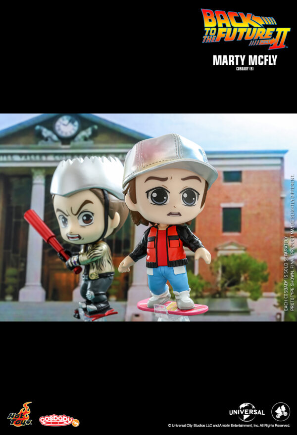 Back to the Future 2 - Marty McFly Cosbaby (S) Hot Toys Figure