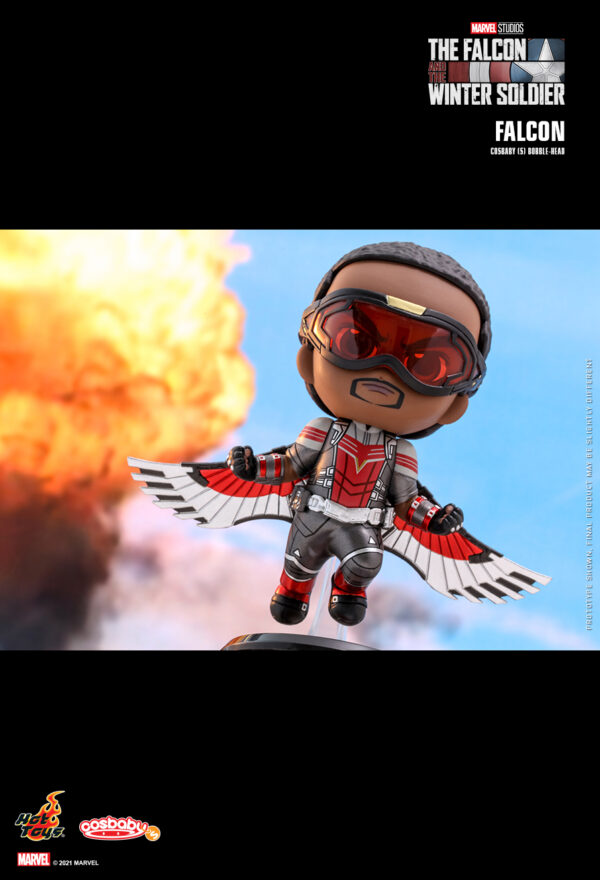 The Falcon and the Winter Soldier - Falcon Cosbaby (S) Hot Toys Figure