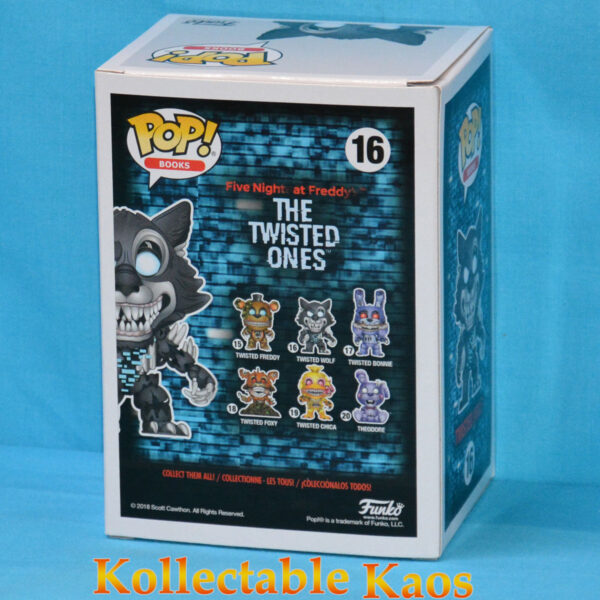 Five Nights at Freddy's: The Twisted Ones - Twisted Wolf Pop! Vinyl Figure