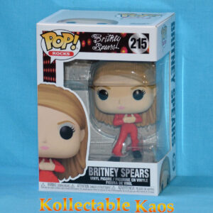 Britney Spears - Britney in Red Catsuit Pop! Vinyl Figure