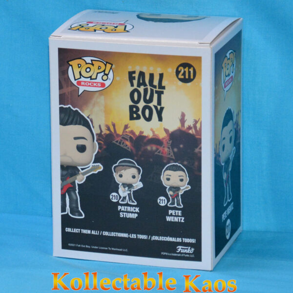 Fall Out Boy - Pete Wentz Pop! Vinyl Figure