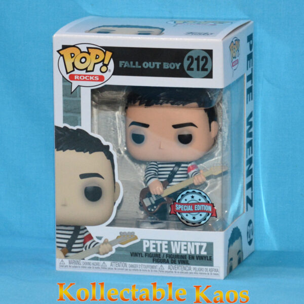 Fall Out Boy - Pete Wentz in Sweater Pop! Vinyl Figure