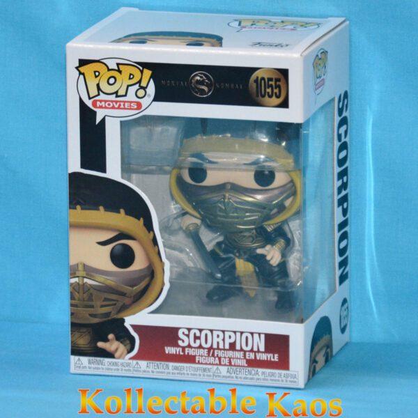 Mortal Kombat (2021) - Scorpion Masked Pop! Vinyl Figure