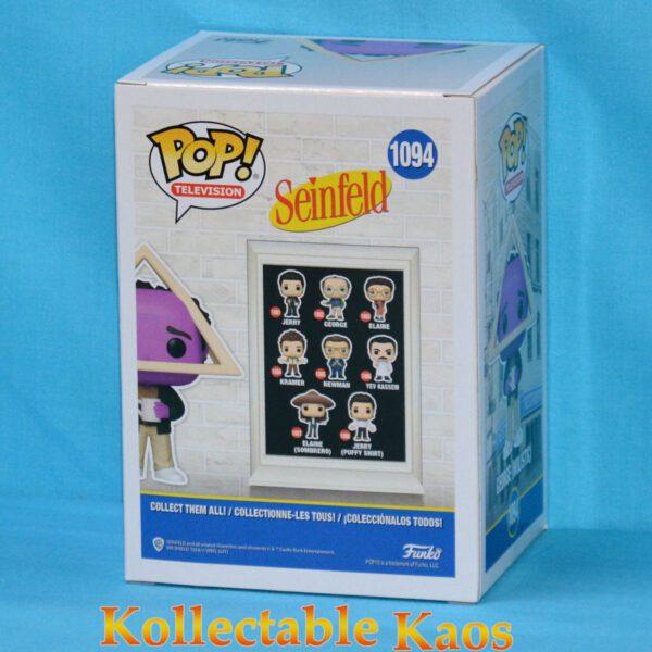 Seinfeld - George Holistic with Purple Face Pop! Vinyl Figure