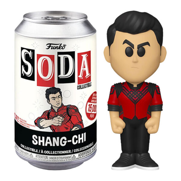 Shang-Chi and the Legend of the Ten Rings - Shang-Chi Vinyl SODA Figure in Collector Can