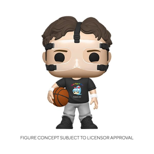 The Office - Dwight with Basketball Pop! Vinyl Figure