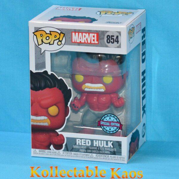 Marvel - Red Hulk Pop! Vinyl Figure