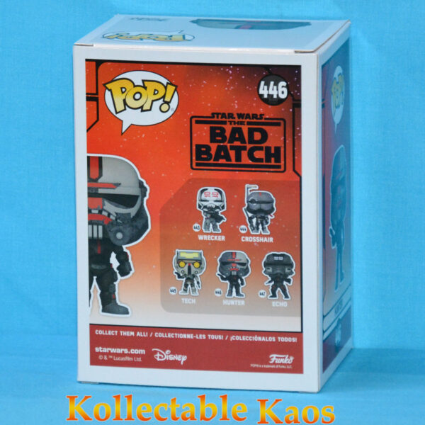 Star Wars: The Bad Batch - Hunter Pop! Vinyl Figure