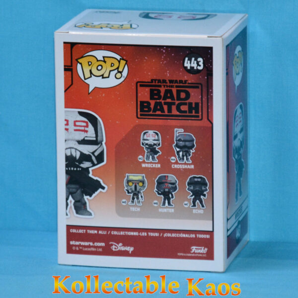 Star Wars: The Bad Batch - Wrecker Pop! Vinyl Figure