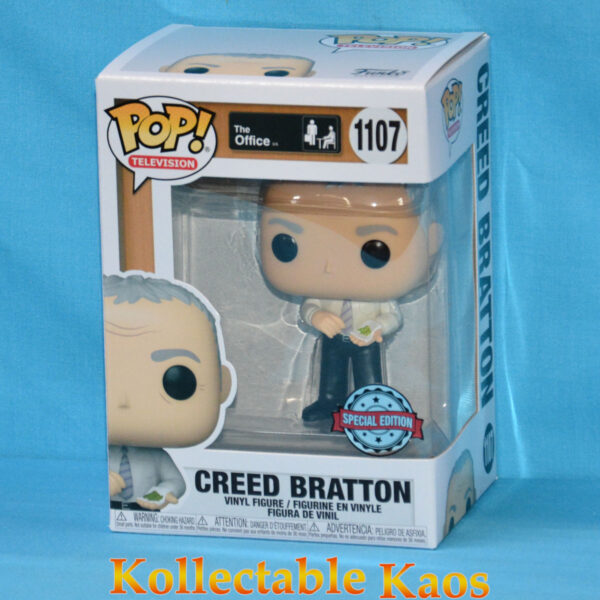 The Office - Creed Bratton with Mung Beans Pop! Vinyl Figure