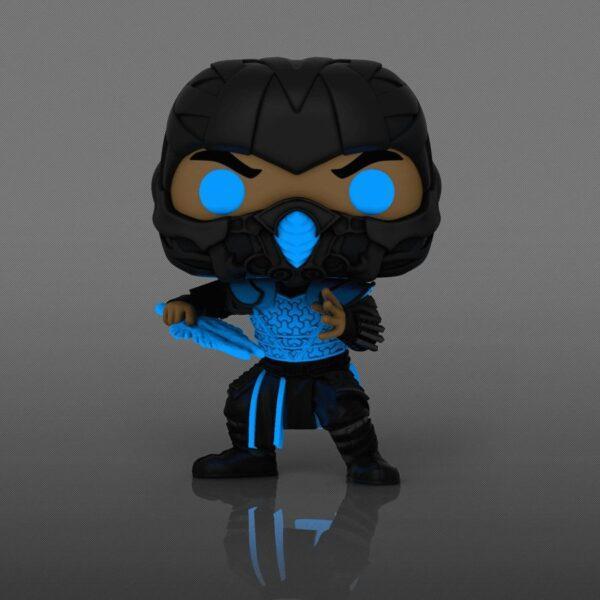Mortal Kombat (2021) - Sub-Zero Glow in the Dark Pop! Vinyl Figure