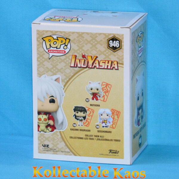 InuYasha - Inuyasha with Kirara Pop! Vinyl Figure