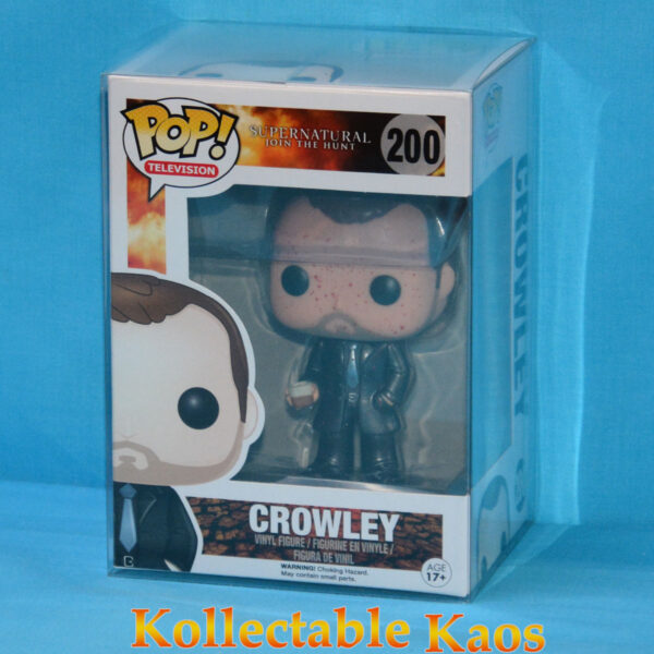 Supernatural - Crowley Blood Splatter Metallic Pop! Vinyl Figure