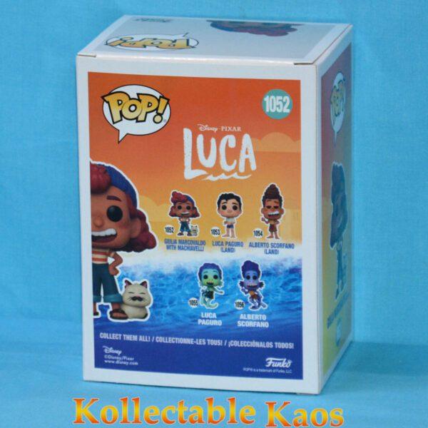 Luca (2021) - Giulia Marcovaldo with Machiavelli Pop! Vinyl Figure