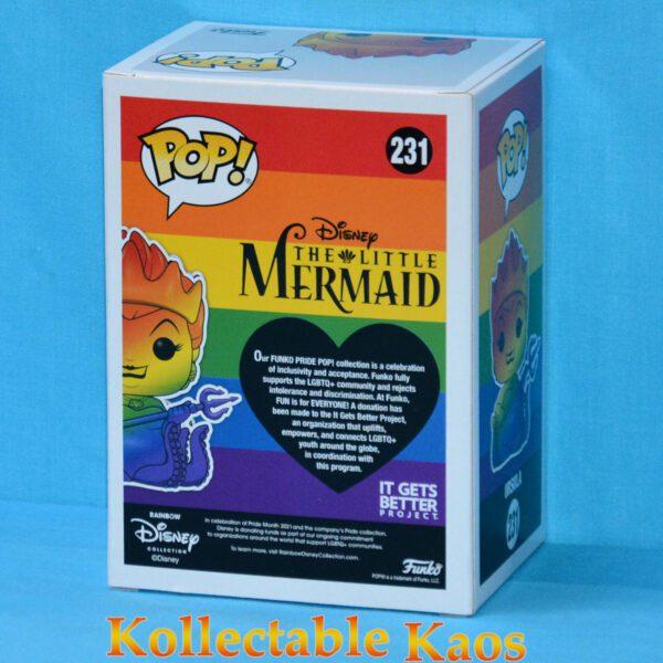 The Little Mermaid - Ursula Rainbow Pride Diamond Glitter Pop! Vinyl Figure