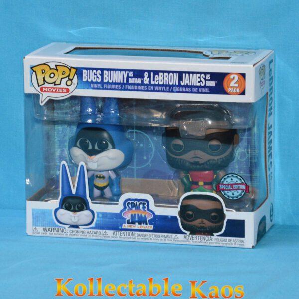 Space Jam 2: A New Legacy - Bugs Bunny & LeBron James as Batman & Robin Pop! Vinyl Figure 2-Pack