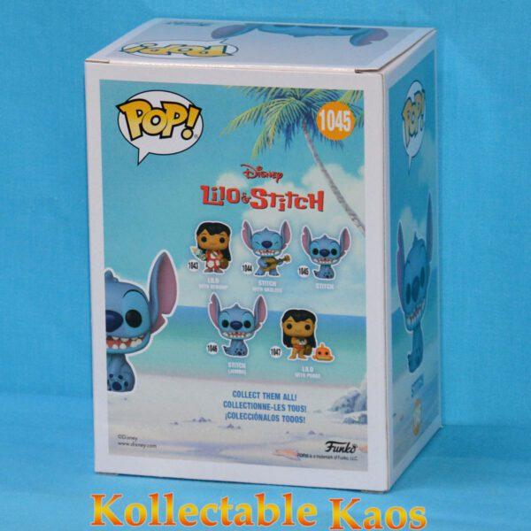 Lilo & Stitch - Stitch Seated Flocked Pop! Vinyl Figure