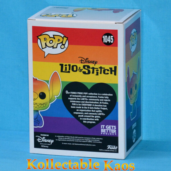 Lilo & Stitch - Stitch Rainbow Pride Pop! Vinyl Figure