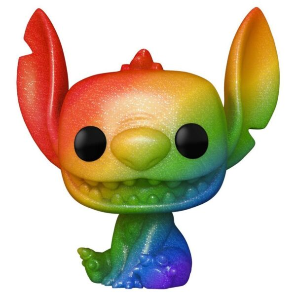 Lilo & Stitch - Stitch Rainbow Pride Diamond Glitter Pop! Vinyl Figure