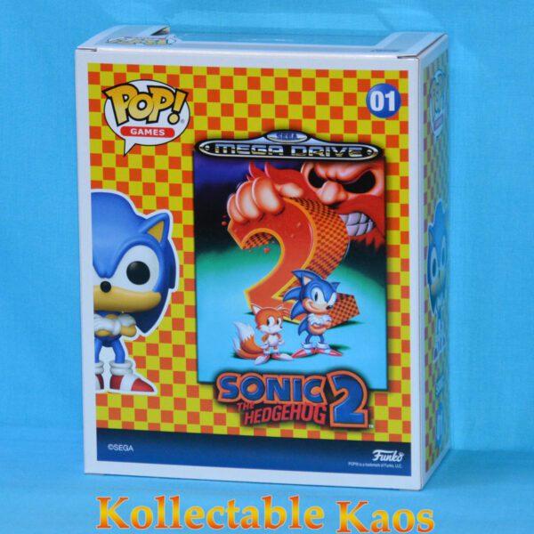 Sonic the Hedgehog 2 - Sonic Pop! Games Cover Vinyl Figure