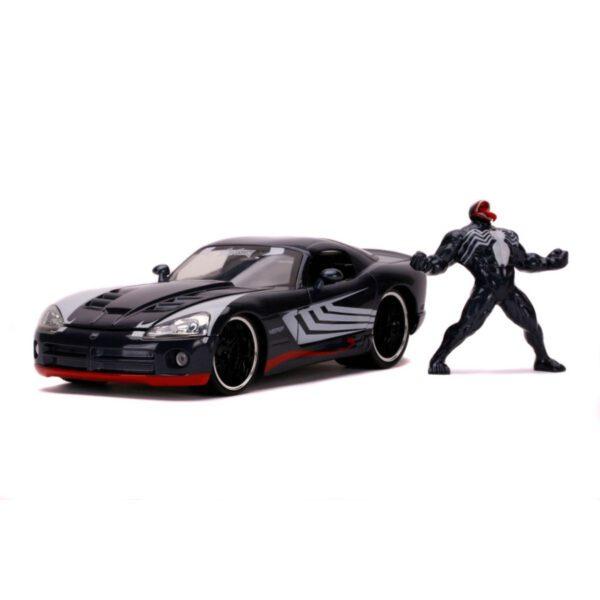 1:24 Jada Hollywood Rides - Venom - 2008 Dodge Viper SRT 10 with Venom