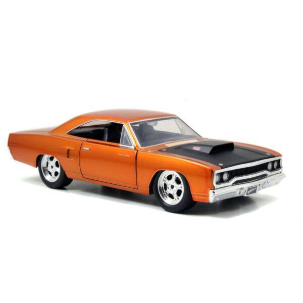 1:24 Jada Hollywood Rides - Fast & Furious - 1970 Plymouth Road Runner BK