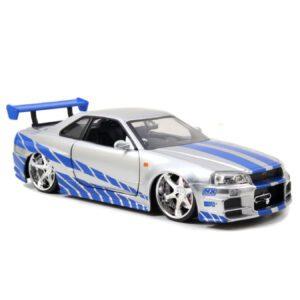 1:24 Jada Hollywood Rides - Fast and Furious - 2002 Nissan Skyline GT-R