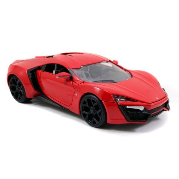 1:24 Jada Hollywood Rides - W. Motors Lykan Hypersport