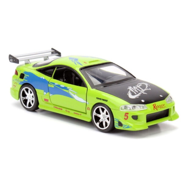 1:32 Jada Hollywood Rides - Fast and Furious - 1995 Mitsubishi Eclipse