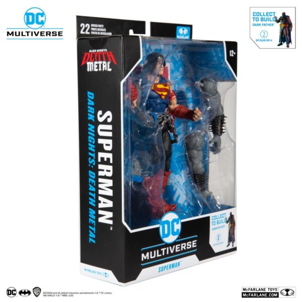 "DC Multiverse - Dark Knights: Death Metal - Superman 7"" Scale Action Figure"