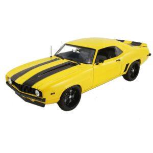 1:18 1969 Chevrolet Camaro Killer Street Fighter - Yellow Jacket