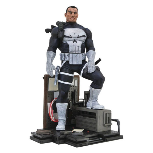"""The Punisher - Frank Castle Classic Costume 22cm(9"""") Marvel Gallery PVC Statue"""