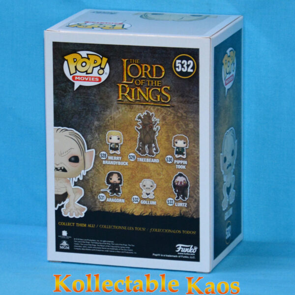 The Lord of the Rings - Gollum with Fish Pop! Vinyl Figure