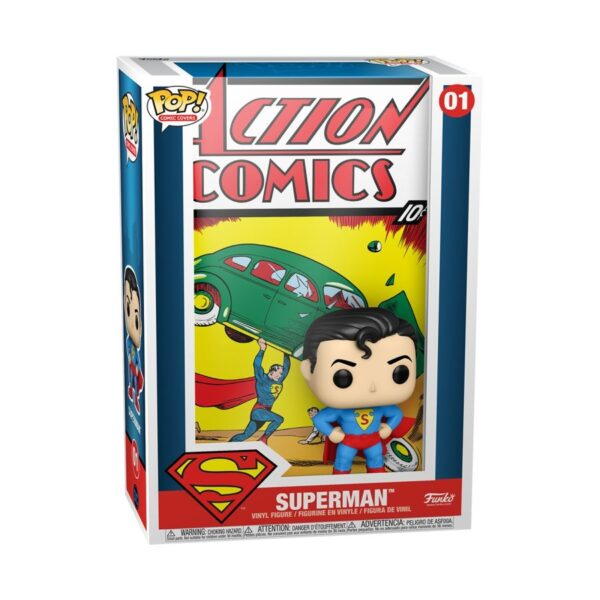 Superman - Superman Action Comics Pop! Comic Cover