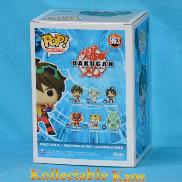Bakugan - Dan Kuso Pop! Vinyl Figure