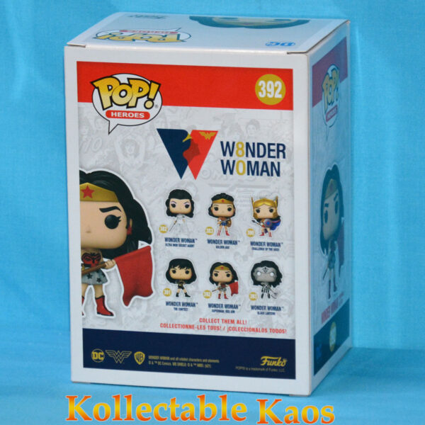 Wonder Woman - Wonder Woman Red Son 80th Anniversary Pop! Vinyl Figure
