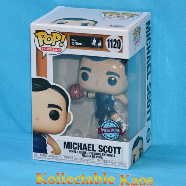 The Office - Michael Scott with Basketball Pop! Vinyl Figure