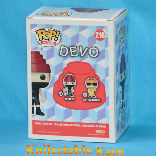 Devo - Whip It Pop! Vinyl Figure