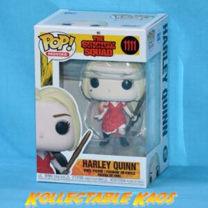 The Suicide Squad (2021) - Harley Quinn Red Dress & Staff Pop! Vinyl Figure