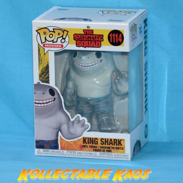 The Suicide Squad (2021) - King Shark Pop! Vinyl Figure
